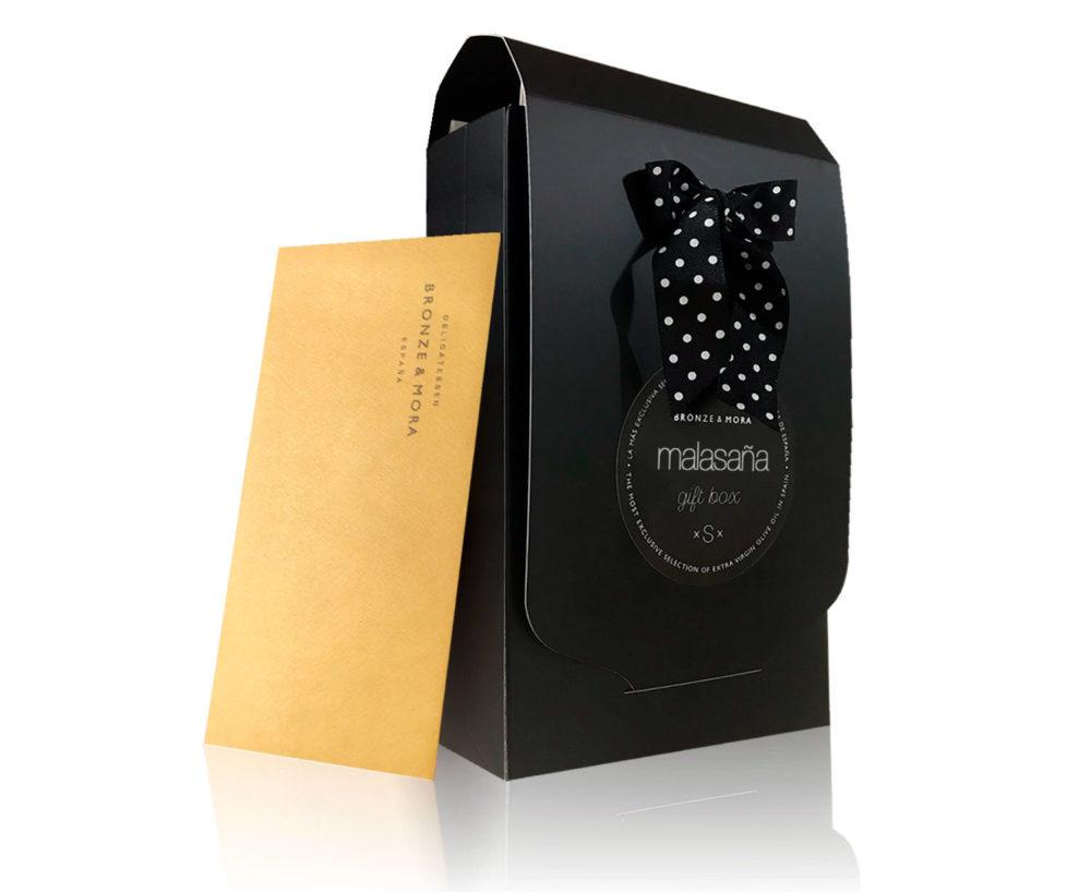 caja regalo Malasaña Bronze & Mora