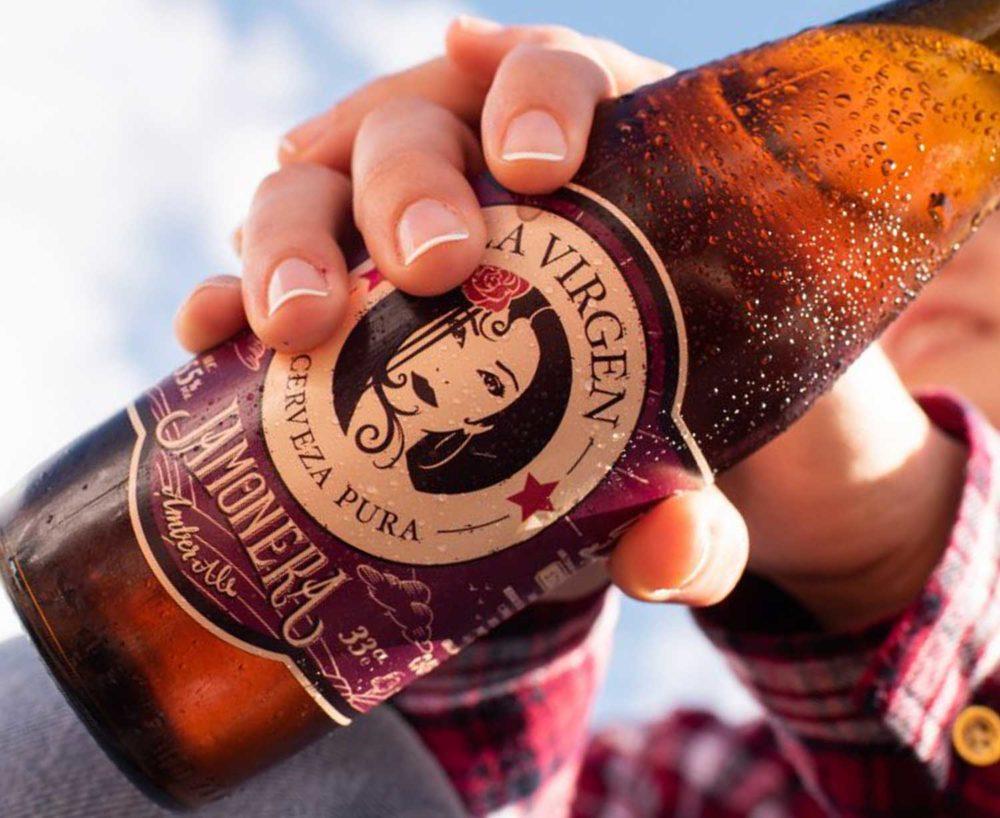 cerveza artesana para regalar Malasaña Bronze & Mora