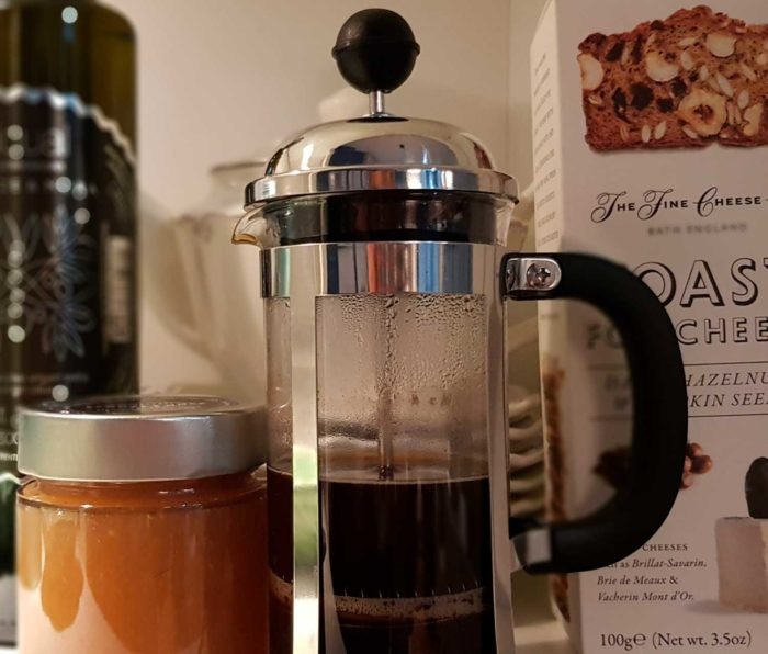 detalle cafe colombia desayuno para dos cesta regalo