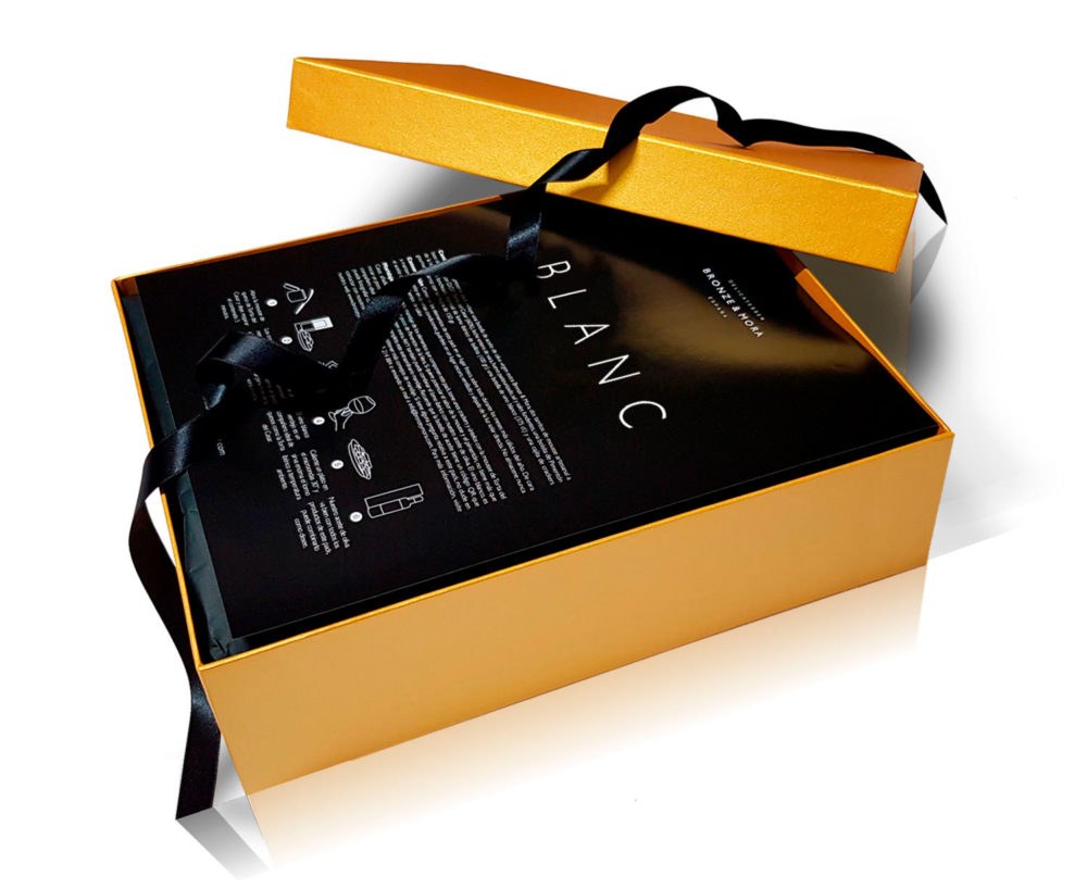 vino blanco cesta regalo personalizable